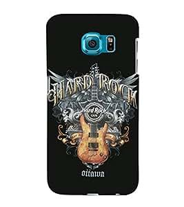 EPICCASE Hard Rock Café Mobile Back Case Cover For Samsung Galaxy S6 Edge (Designer Case)