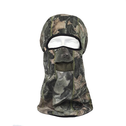 Maoko Camo Pattern Versatile and Adjustable Fleece Balaclava Winter Outdoor Sports Face Mask- Soft and Very Comfortable (Navy Seal Balaclava compare prices)