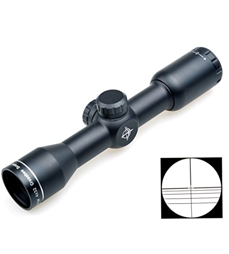 buy Horton Archery Compact Tactical 4x32 (25.4mm Tube) Hunting Crossbow Rifle Scope Gun Sight for sale