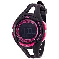 [ニューバランス]new balance 腕時計 EX2 903 ランニングウォッチ ブラック×ピンク EX2-903-001 【正規輸入品】