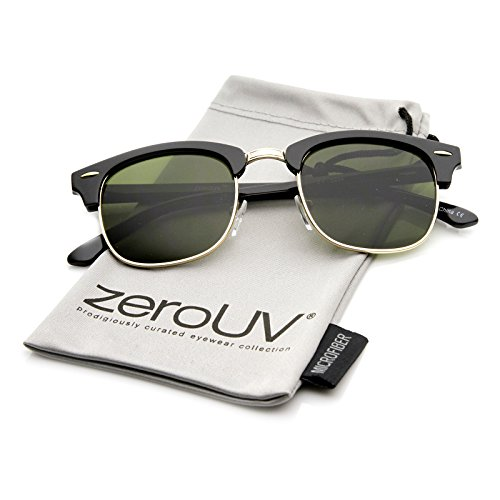 zerouv-premium-half-frame-horn-rimmed-sunglasses-with-metal-rivets-classic-series-shiny-black-gold-g