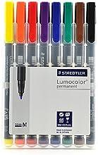 Staedtler Lumocolor AV Marker Sets medium set of 8 PACK OF 2