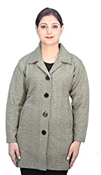 Romano Classy Beige Dry Winter Wool Coat Jacket for Women