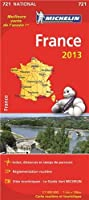 Carte NATIONALE France 2013 n°721