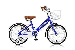 Raychell(レイチェル) 18インチ 子供用自転車 前後フェンダー フロントバスケット付 フロントキャリパー/リアバンドブレーキ KCL-18R ブルー 31082