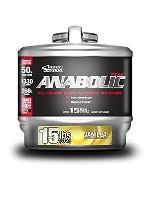 Inner Armour Nutritional Supplement Anabolic Peak, Vanilla, 15 Pound