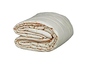 Washable Wool Comforter Size: King