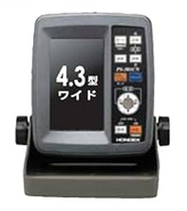 HONDEX(ホンデックス) 4.3型 ワイドカラー液晶GPSアンテナ内蔵魚探 PS-501CN