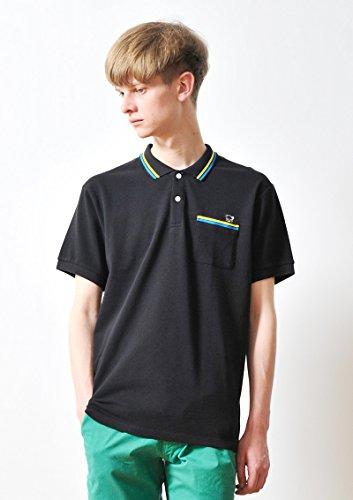 ( グラニフ ) graniph コントロールベア ポロシャツ ( ブラック ) M