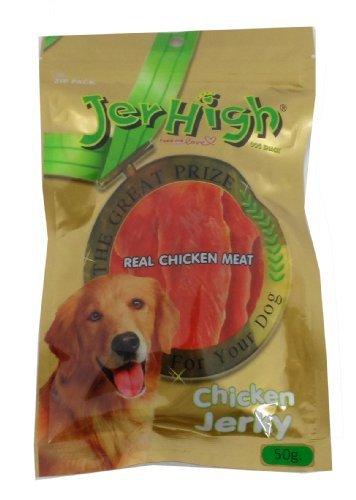 JerHigh Chicken Jerky Dog Treats, 50 G (Pack Of 6)