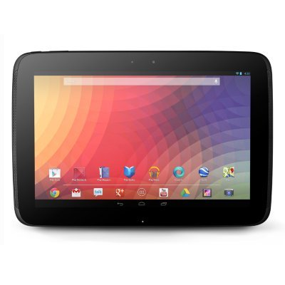 The New Google (Samsung) Nexus 10 10-inch Andriod 4.2 (Jelly Bean) Tablet 16GB SSD 2560x1600 Pixel World Highest Resolution for 300 ppi WQXGA (WiFi Only) 2GB Ram Micro USB Micro HDMI Accelerometer Compass Ambient light Gyroscope Barometer GPS