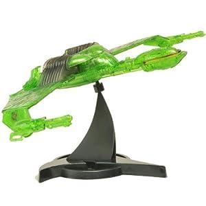 Star Trek 3 Klingon Bird of Prey Exclusive Commander Kruge Cloaked Electronic Starship