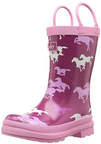 Hatley Little Girls' Printed Rain Boots, Fairy Tale Horses,10 (Rain Boots Printed compare prices)