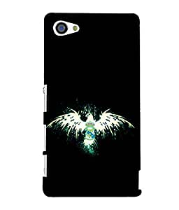 printtech Eagle Bird Cool Back Case Cover for Sony Xperia Z5 Compact::Sony Xperia Z5 Mini