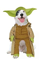Rubies Star Wars Yoda Pet Costume Select Size: from Rubie's Costume Co