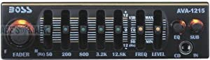 Where can you buy BOSS AVA1215 Mini 5 Band Pre amp Equalizer with Subwoofer Output Online