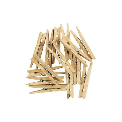 SupaHome Wooden Clothes Pegs Pack Of 36 SALE