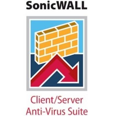 SonicWALL Enforced Client Anti-Virus and Anti-Spyware - subscription licence(01-SSC-6948)