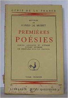 premi 232 res po 233 sies contes d espagne et d italie po 233 sies diverses un spectacle dans un fauteuil