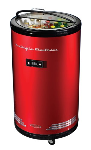 Nostalgia Electrics Bpc700Retrored Retro Series 60-Can Party Cooler