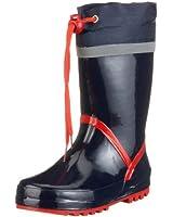 Playshoes Gummistiefel Basic 184307, Stivali unisex bambino