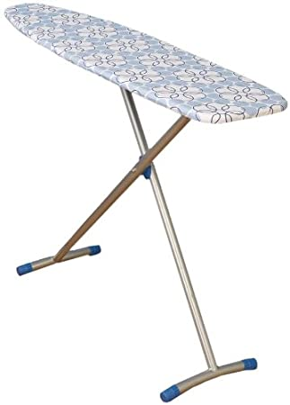 Household Essentials Fibertech Top T-Leg Ironing Board with Cotton Cover, Magic Rings $36.97