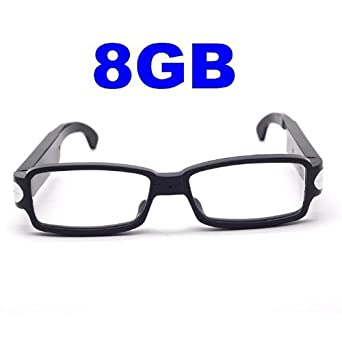 2013 High Quality 1280x720P HD Spy Glasses Camera built-in-8GB Undetectable Lens