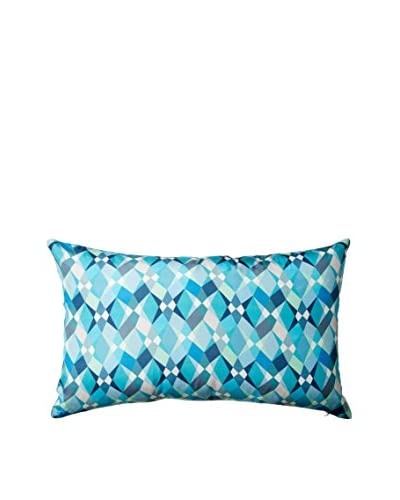 Nitin Goyal London Trio Silk Lumbar Pillow