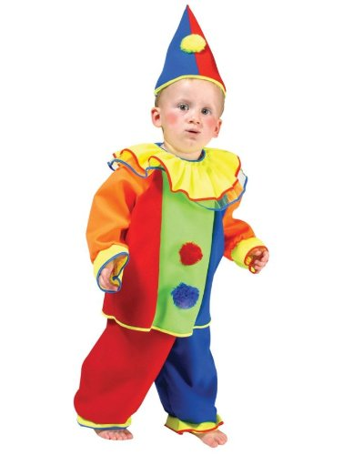 Baby Bobo Clown Costume