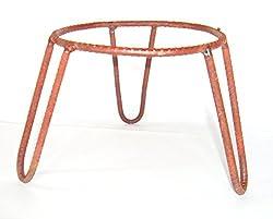 Matka Stand Plant Pot Stand - Iron (Set of 3 Pcs)