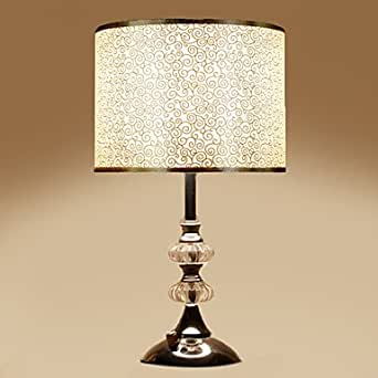 Crystal bedside lamp with dimmer switch - Bedside lamps with dimmer ...