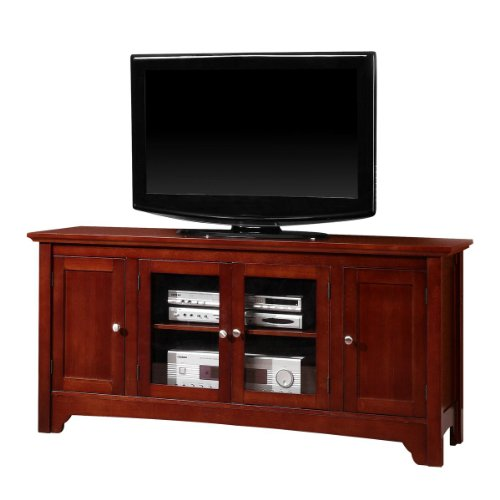 Solid wood asian tv stand