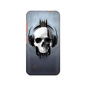 Ebby Skull Sound Premium Printed Case For Nokia Lumia 530