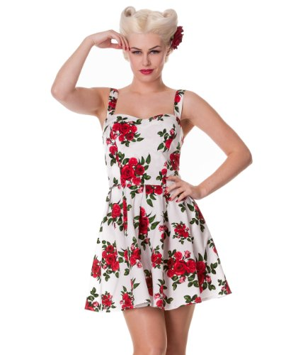 Hell Bunny Cannes Mini Dress L - UK 12 / EU 40