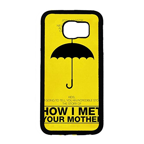 Cover Shell Fresh Yellow Quotes Love Comedy TV Show How I Met Your Mother Phone Case Cover for Samsung Galaxy S6 Himym Classical