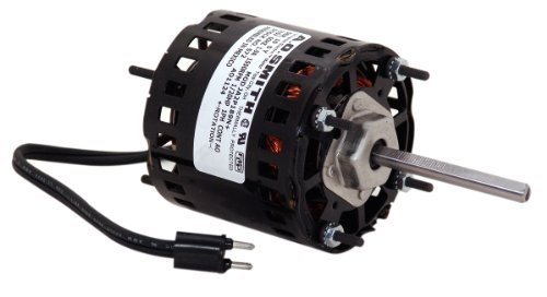 A.O. Smith 573A 3.3-Inch 1/15 Hp, Open Enclosure, Sleeve Bearing, Cwse Rotation, 3-Inch By 5/16-Inch Shaft General Purpose Shaded Pole Motor