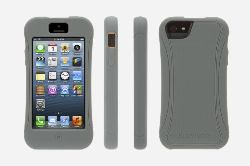 Griffin GB36313 Survivor Slim Case for iPhone 5 - Retail Packaging - Grey at Sears.com