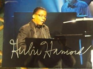 Herbie Hancock Signed 11x14 Grammy Winner Jazz Legend - Autographed NBA Photos by Sports Memorabilia
