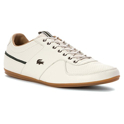 Lacoste Men's Taloire 17 Srm Fashion Sneaker, Size: 10 D(M) US, Color: Off White