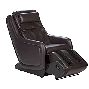 Human Touch, LLC Zero Gravity Immersion Seating with Foot and calf massager - Espresso
