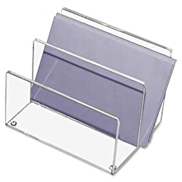 Wholesale CASE of 15 - Kantek Acrylic Mini Sorter-Mini Sorter, Acrylic, 4-1/8\