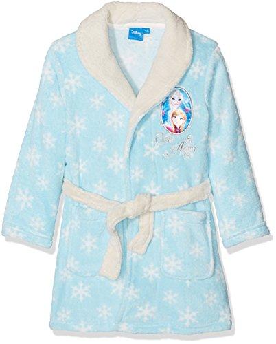 Disney Frozen Elsa and Anna, Accappatoio Bambina, Blu, 6 Anni