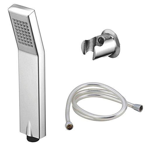 Kamal Textorium Kamal Kubix Hand Shower With Shower Tube And Wall Hook