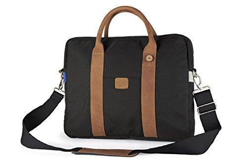 FAGUO - - Uomo - Sac Laptop Nylon Black pour homme -