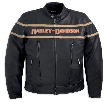 Harley-Davidson® Men's Legend Leather Jacket. Midweight. Embroidery. 98025-12VM