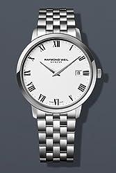 Raymond Weil Toccata White Dial Steel Bracelet Mens Watch 5588-ST-00300