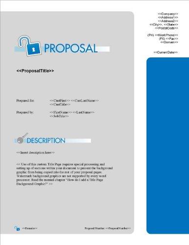 Proposal Pack Security #4 V15.0 - 2014