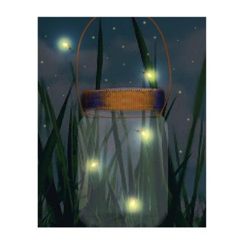 Ohio Wholesale Radiance Lighted Firefly Jar Wall Art