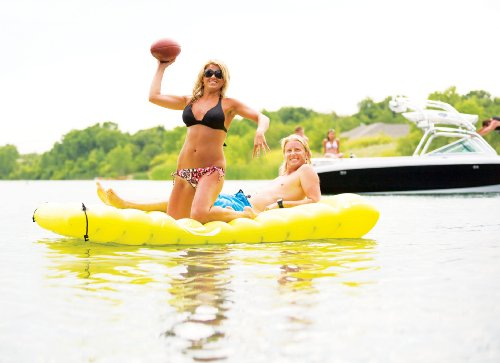 Sevylor Inflatable Double Lake Mattress Inflatable Raft