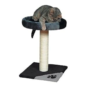 trixie arbre chat 52 cm gris noir animalerie. Black Bedroom Furniture Sets. Home Design Ideas
